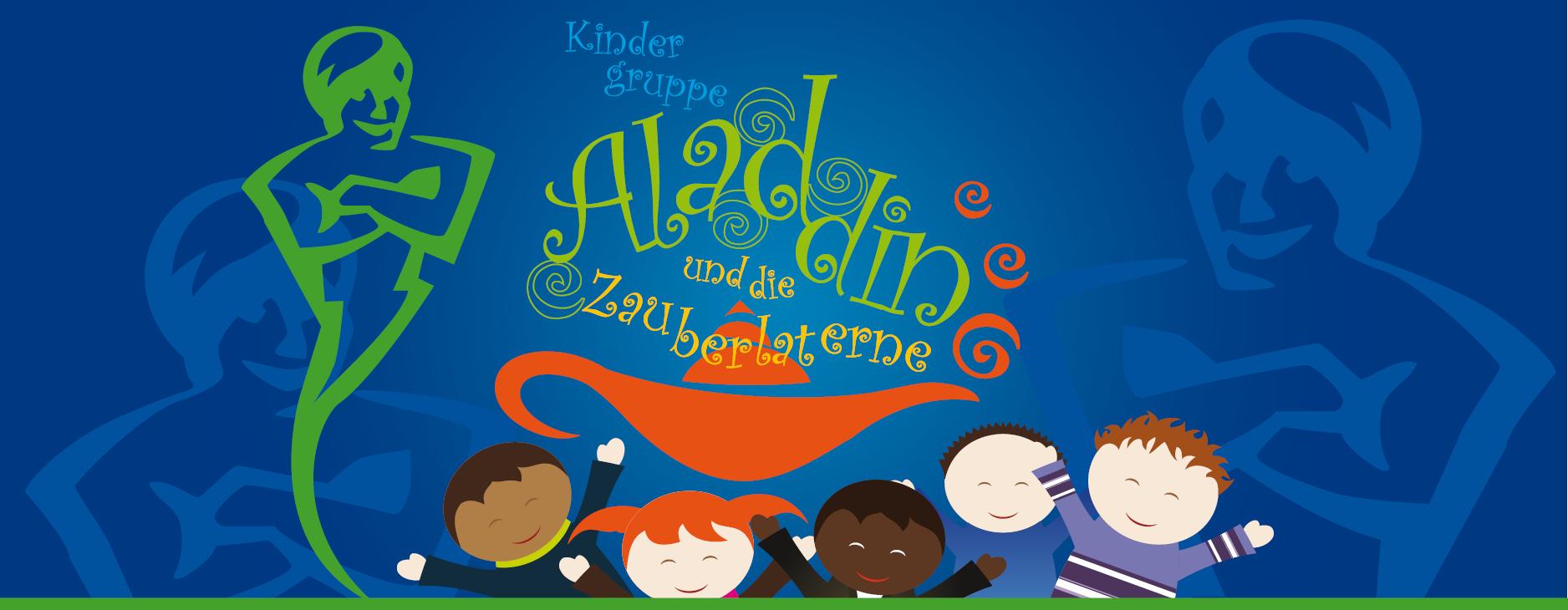 Kindergruppe Aladin - Logo